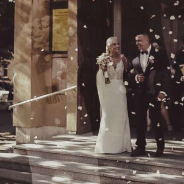 Romantyczny ślub na Śląsku w Dąbrowie Górniczej oraz Zawierciu wraz z Renatą i Kamilem