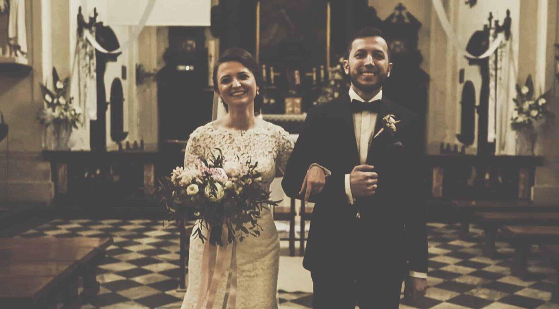 Ślub w Klasztorze w Czernej oraz wesele w Małopolsce wraz z Martyną i Krzysztofem