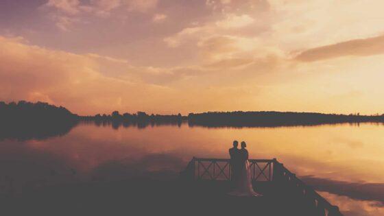 Film ślubny zrealizowany na Śląsku w Mysłowicach oraz wesele nad jeziorem wraz z Natalią i Arturem