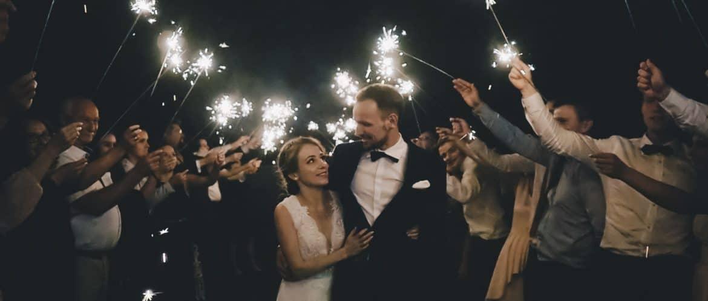 Cudowny ślub w drewnianym kościele w Lublińcu wraz Mają oraz Jakubem