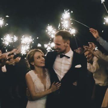 Maja i Jakub – ślub drewnianym kościele