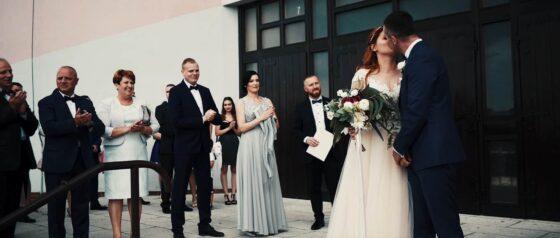 Reportaż ze ślubu w Knurowie uroczej pary, Eweliny i Marcina
