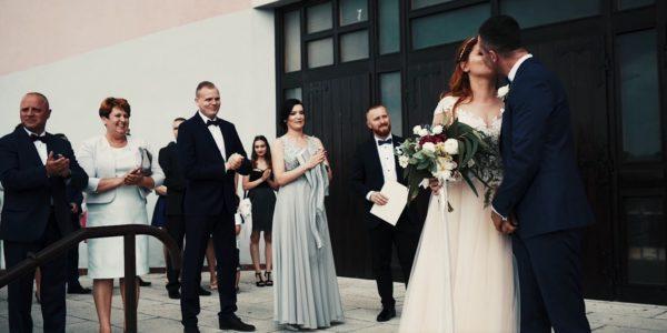 Ewelina i Marcin – ślub w Knurowie