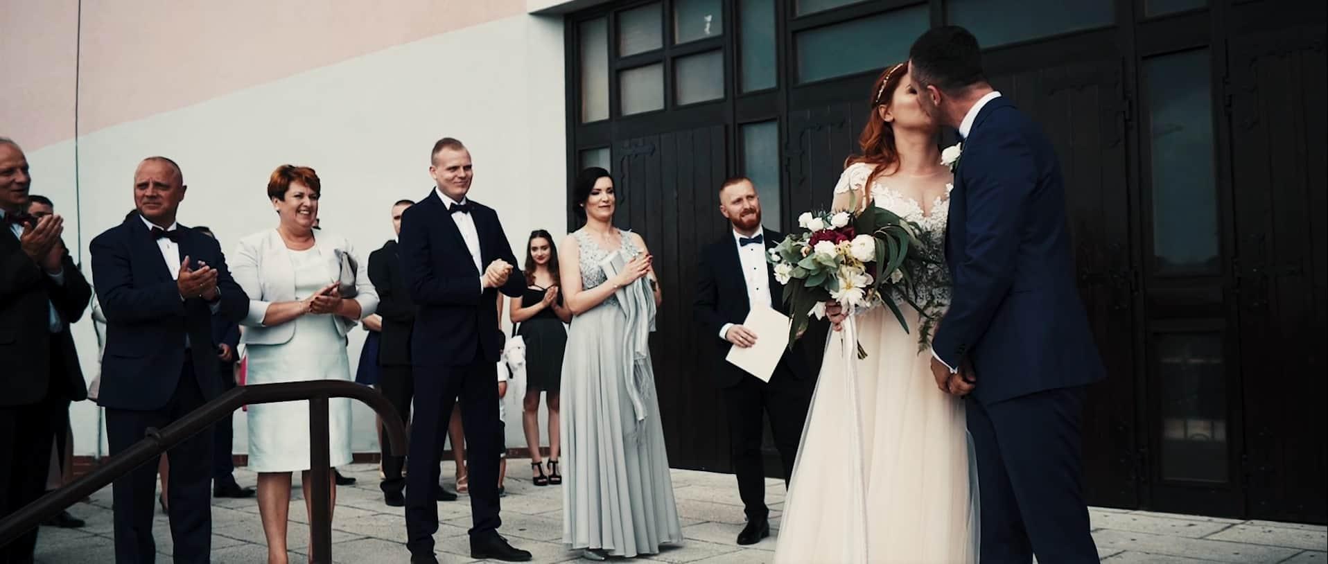 Ewelina I Marcin ślub W Knurowie Film ślubny To Coś Więcej