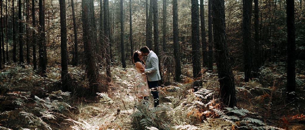 Aleksandra i Artur – leśne historie ślubne