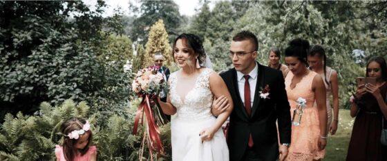 Ślub oraz wesele na Śląsku w Jastrzębiu Zdroju wraz z Dominiką i Dominikiem