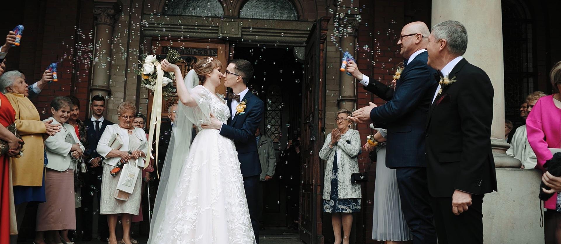 bańki wesele ślub katowice wesele śląsk film ślubny