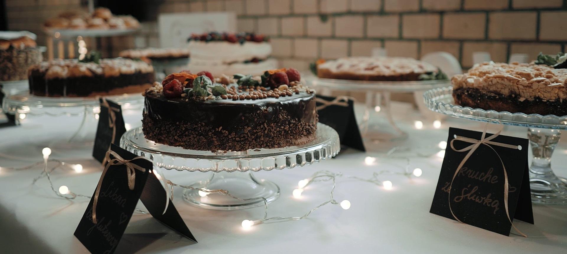 słodki stół na weselu katowice śląsk
