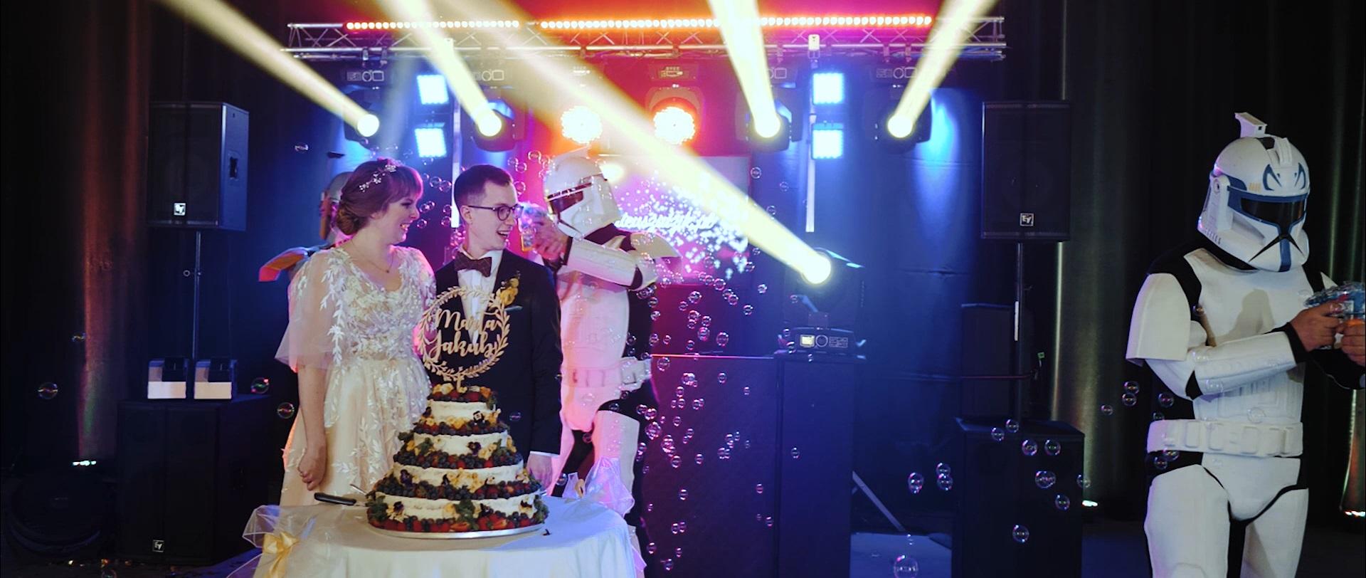 star wars wedding gwiezdne wojny ślub wesele