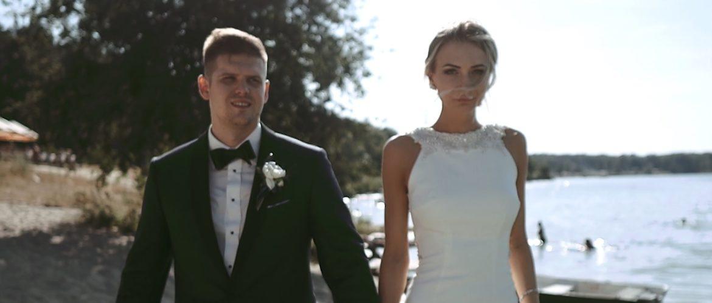 Karolina i Maciej – Klimatyczny ślub i wesele nad jeziorem