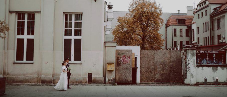 Ślub cywilny w Pałacu Goldstein w Katowicach oraz wesele Perła Beskidów
