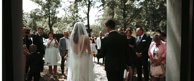 Historia ślubna Teresy oraz Tomka | Dworek nad Stawem