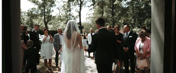 Historia ślubna Teresy oraz Tomka | Dworek nad Stawek | Kościół pw. św. Urbana w Tworkowie