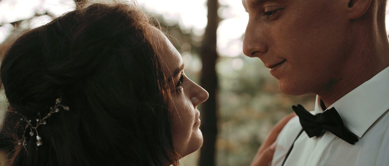 Wspaniały ślub oraz romantyczny leśny plener, wesele Dworek Broniszówka z Marysią i Robertem