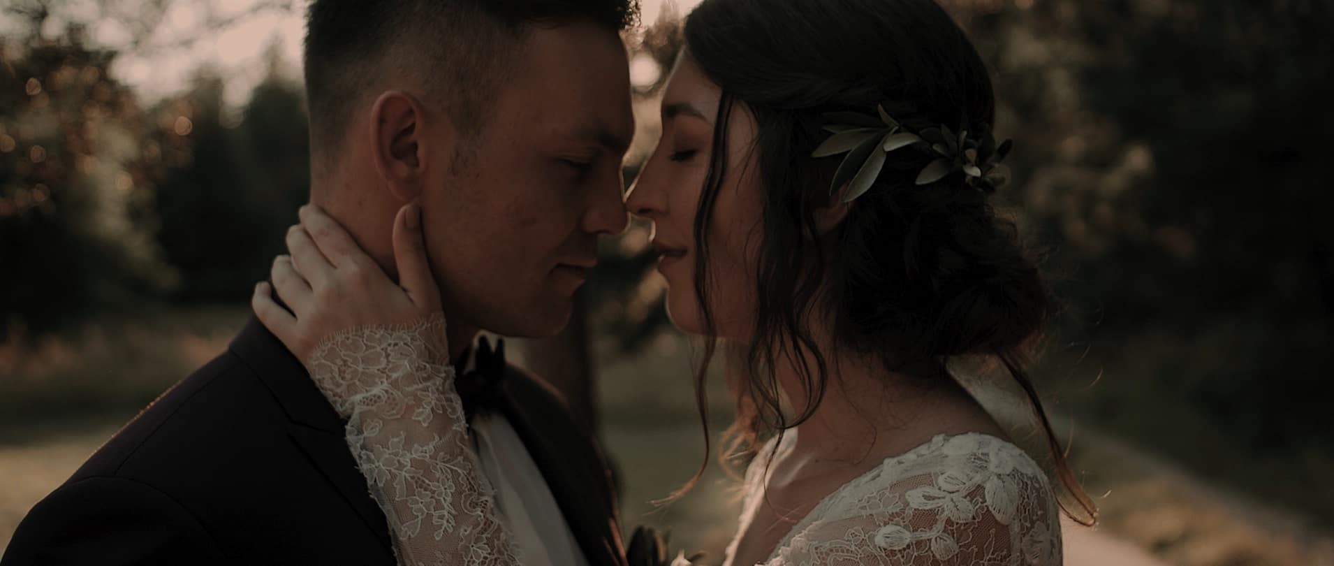 wzruszający romantyczny film ślubny katowice