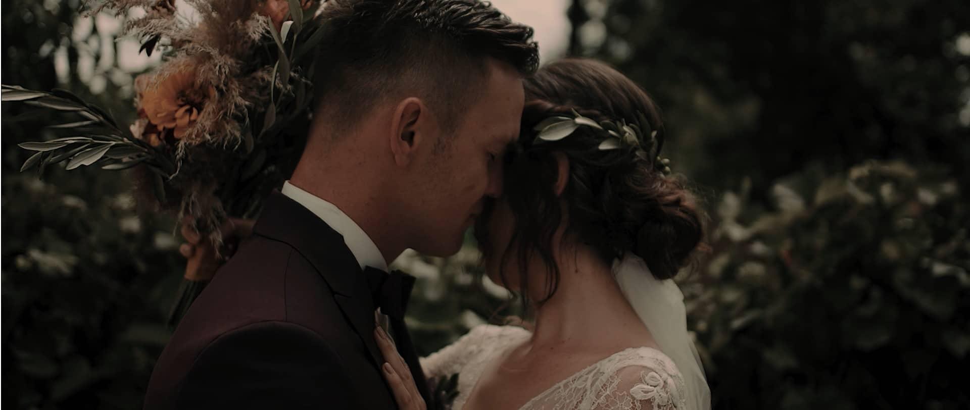 wzruszający romantyczny film ślubny